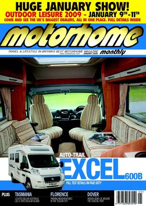 Calam 233 O January 2009 Motorhome Monthly Magazine