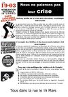Tract pour la mobilisation du 19 Mars
