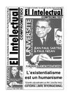 Periodico El Intelectual Comprometido - Universite Jean Paul Sartre- Intelectuales Sartreanos