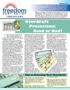 Freedom Debt Relief - Overdraft Protection: Good or Bad