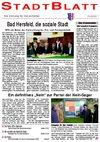 StadtBlatt Bad Hersfeld, Ausgabe 1, Januar 2006