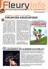 La Lettre d&#039;information n59 - septembre 2009