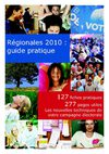 Prsentation du guide sur les lections rgionales 2010