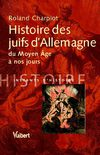 Extrait  Histoire des juifs d&#039;Allemagne  Vuibert