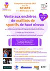 Soire enchres Pour les 10 ans d&#039;Un Maillot pour la Vie
