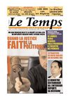 Le Temps d&#039;Algrie www.letempsdz.com dition du 1er avril 2010