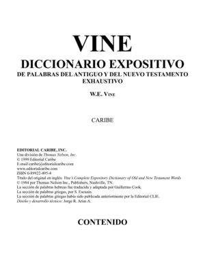 Calaméo - Diccionario Biblico Vine