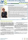 Prfiguration ARS Ile-de-France Newsletter n3