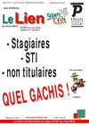 Le Lien Sgen-CFDT Haut-Rhin aux sections - mai 2010