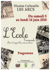 programme dizaine culturelle
