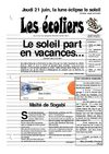 Les Ecoliers n3 : le soleil part en vacances - juin 2001 