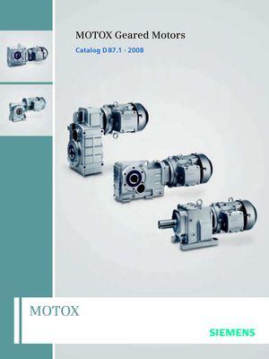 Calam o siemens motor ducteurs flender for Siemens electric motors catalog