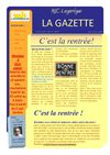 MJC Lagarrigue La gazette n5 : spcial rentre