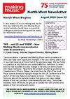 Making Music North West Newsletter - Issue 52 - August 2010