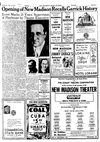 New Madison theatre in Madison,WI November 18th, 1936