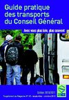 Guide pratique des transports du Conseil Gnral - dition 2010 - 2011