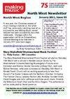 Making Music North West Newsletter - January 2011 - Issue 53