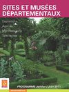 Programme 1er semestre 2011 - Muses et sites dpartementaux