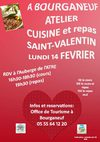 Atelier cuisine St-Valentin