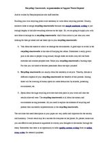 Guide to Writing a Basic Essay: Sample Essay