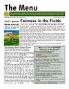 The Menu: Fairness in the Fields - University Catholic Center