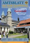 Amtsblatt 02/2011 der Stadt Quedlinburg mit den Ortschaften Bad Suderode, Gernrode und Rieder Ausgabe 02/2011 26....