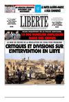 LIBERTE ALGERIE (liberte-algerie.com) du 22 Mars 2011