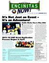 Summer 2011 Encinitas NOW! City e-Newsletter