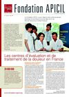 FONDATION APICIL CONTRE LA DOULEUR newsletter 3