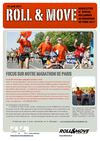 Newsletter Roll&amp;Move n spcial marathon de Paris avril 2011