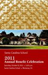 Santa Catalina Annual Benefit Celebration Brochure