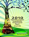 City of Dunwoody 2010 Comprehensive Annual Financial Report