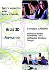 Archi 3D Formation catalogue