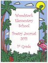 1st Grade Poetry Journal