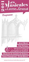 Musicales du Causse de Gramat : Programme 2011