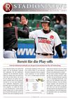 Stadionnews Nr. 07/2011 - Buchbinder Legionäre vs. Bad Homburg