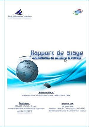 Rapport De Stage Page De Garde Exemple   Joy Studio Design Gallery - Best Design
