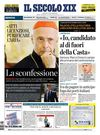 La Cover del Secolo XIX 27-09-2011