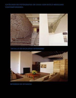 Calam 233 O Cat 193 Logo Final Casas Estilo Mexicano Contempor 193 Neo