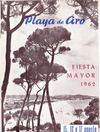PROGRAMA FIESTA MAYOR 1962 PLAYA DE ARO