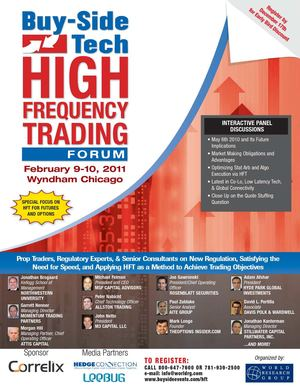 High frequency trading operating system