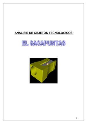 Calam 233 O Analisis Tecnologico El Sacapuntas