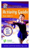 Town of Amherstburg - Fall 2011 Activity Guide