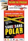Revue de Presse 1er salon &quot;Sang pour Sang Polar&quot;