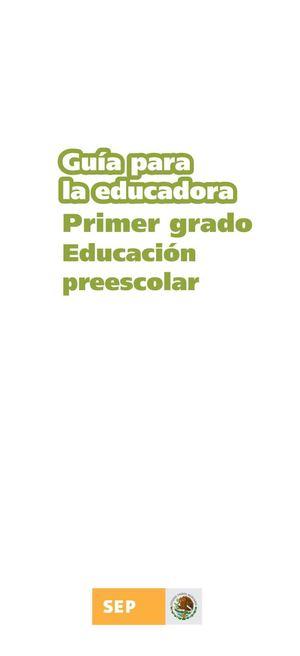 Calaméo - Guía para Educación preescolar