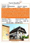 maison a vendre  schwindratzheim-strasbourg-alsace-67, 100% directement de particulier, sans frais d&#039;agence, sans...