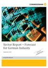Commerzbank | Sector Report – Forecast for German Industry Sept 2011