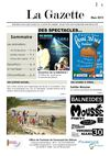 gazette des animations du mois de mars 2012