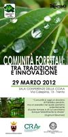 Programma Convegno 2012 - Comunit Forestali