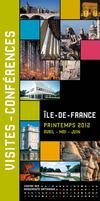 Programme des visites-confrence Paris Ile-de-France printemps 2012